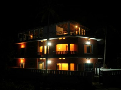 Kuzhupilly Beachhouse Nightview
